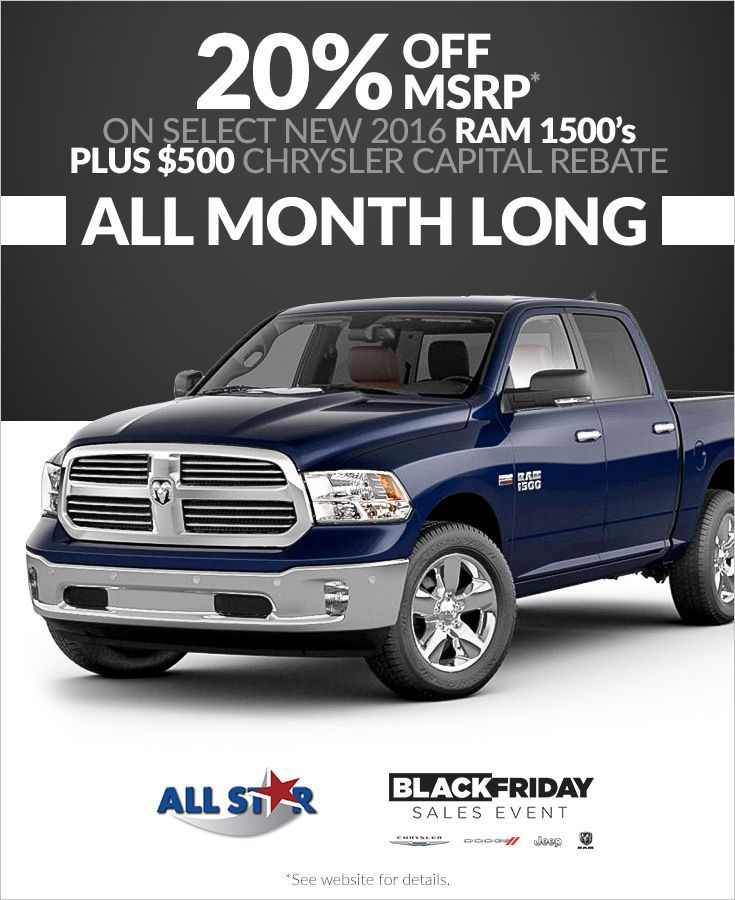 All Star Chrysler Dodge Jeep Ram Is Turning The Holidays Into The  U201cHaulidaysu201d With