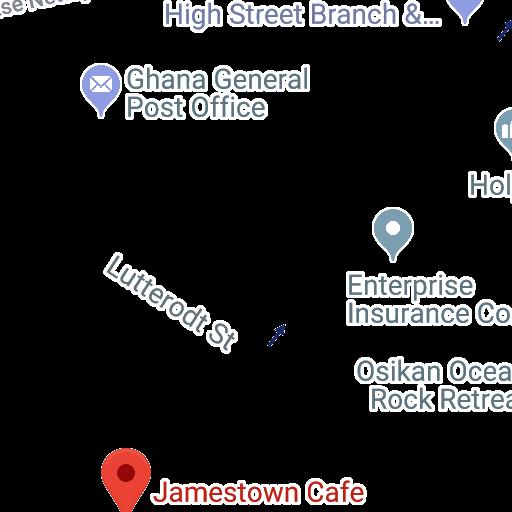 Jamestown Cafe Accra General Post Office Jamestown Post Office