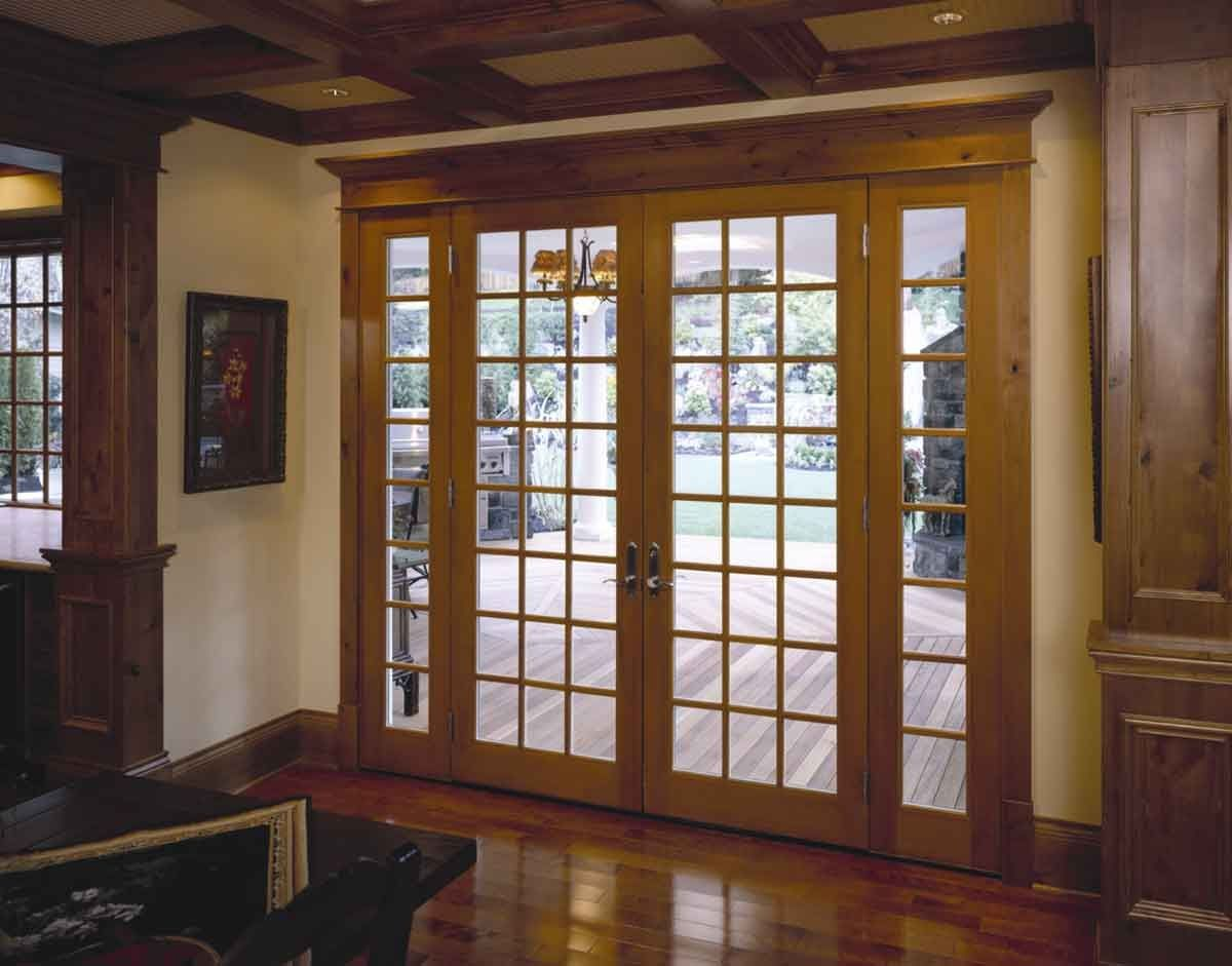 Wood Sliding French Doors Exterior Httpthefallguyediting