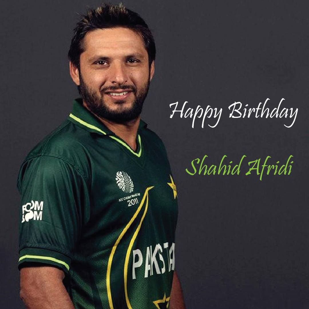 Happy Birthday shahid afridi ! Age is just a number for you! Keep the Boom Boom up! We can never forget … | How to memorize things, Memorable moments, Shahid afridi
