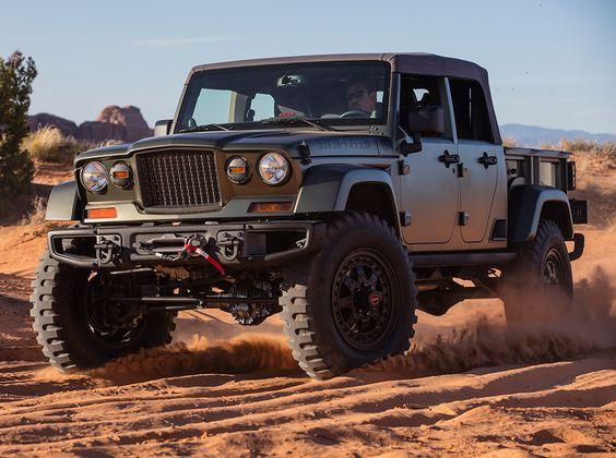 Jeep Crew Chief 715 The Concept Should Build