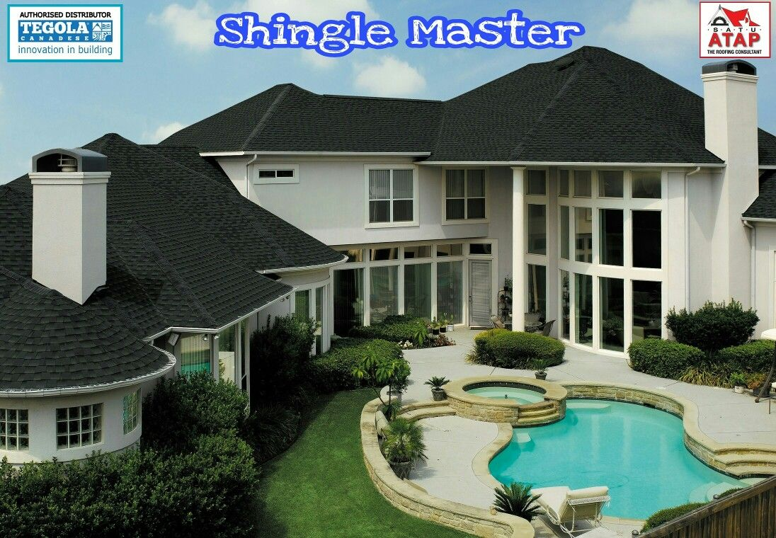 Roofing Tegola Master Everything On A Single Roof These Are The Characteristics Of Any Tegola Canadese Roof Architectural Shingles Roof Shingles Shingling