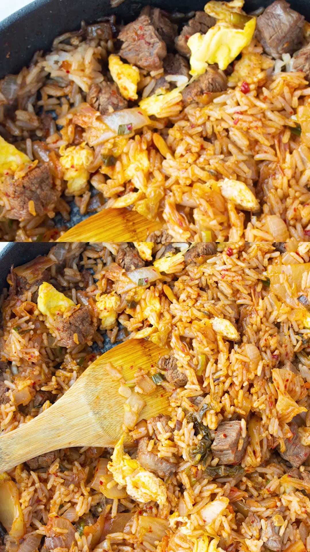 Photo of Steak Kimchi Fried Rice