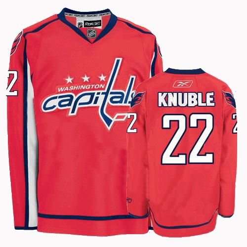 2929b6efdc0 Washington Capitals Mike Knuble 22 Red Authentic Jersey Sale | NHL ...