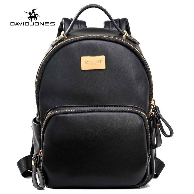 3a85c9d4d0 Check lastest price DAVIDJONES Women Mini Backpack teenager girls School Bags  female shoulder bags college students