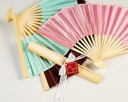 Silk Fans Perfect for a summer event