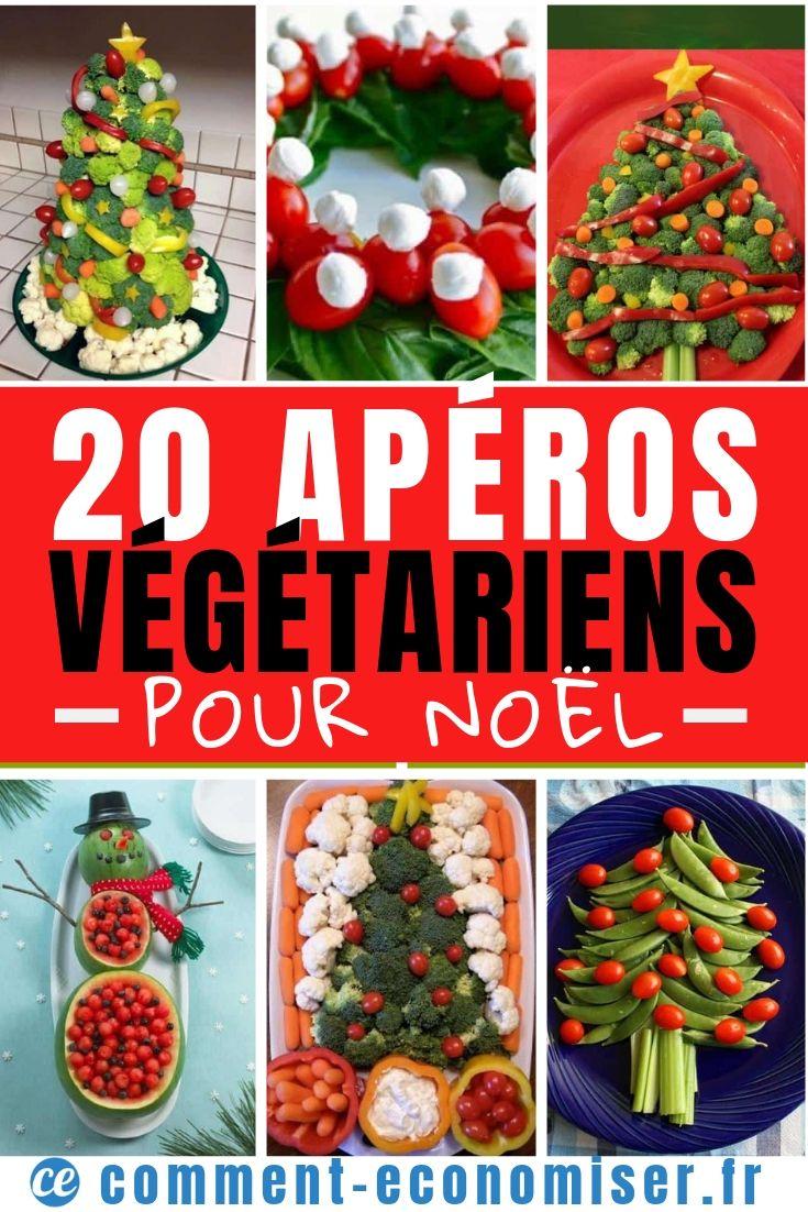20 Apéros de Noël Que Tous les Végétariens Vont Adorer.