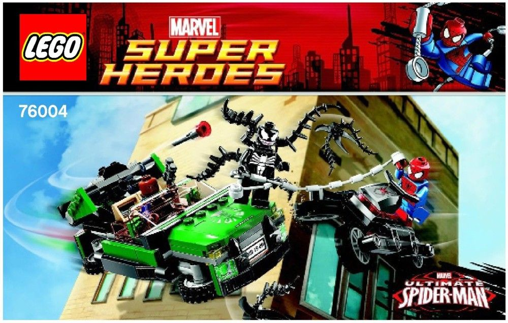 Marvel Super Heroes Spider Man Tm Spider Cycle Chase Lego