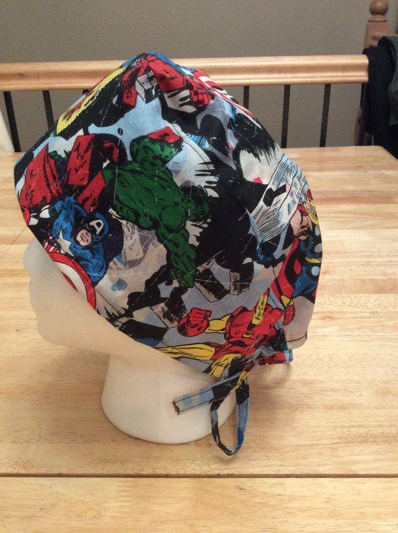 Superhero Scrub Hat