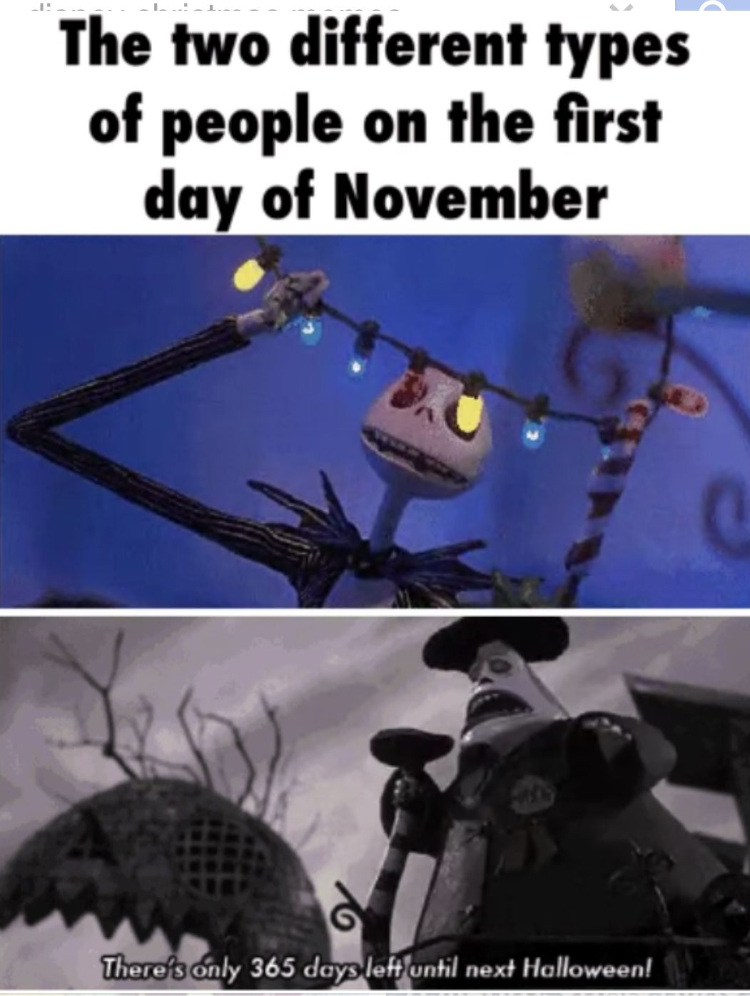 Pin By Christmas Movie Queen On Christmas Memes Halloween Memes Christmas Memes Nightmare Before Christmas