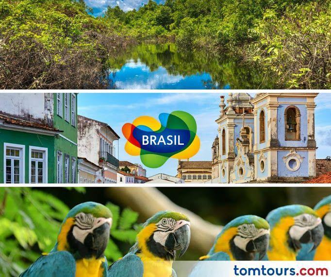 Viaje a #Brasil con las mejores tarifas en aéreos del mercado. No se pierda la oportunidad de vivir este destino majestuoso. #SomosLatinoamérica
