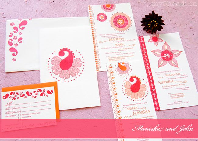 Modern Wedding Cards Stationary Couture Collection