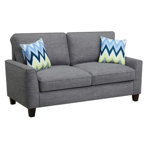 Best Alan 73 Sofa In Light Gray Sofa Sofa Upholstery Sofa 400 x 300