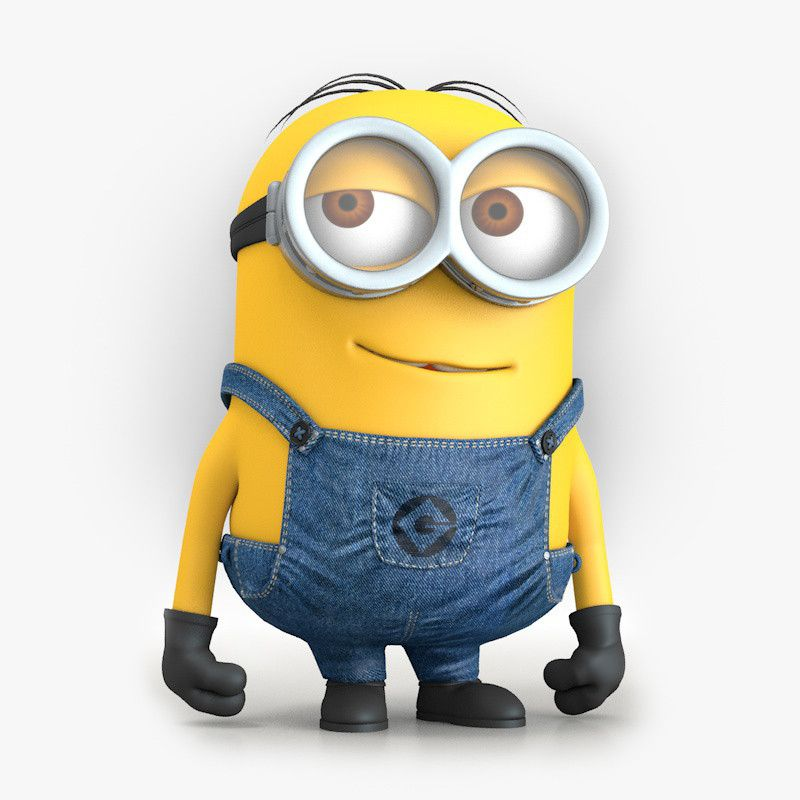 Minion Character Despicable 3d Model Minions Minion Art Minion Characters