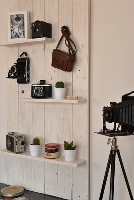 How To Turn Your Vintage Camera Collection into Wall Art | Vintage ...