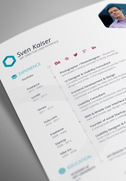 Free Resume Templates To Get Better Job Opportunity  Graphic