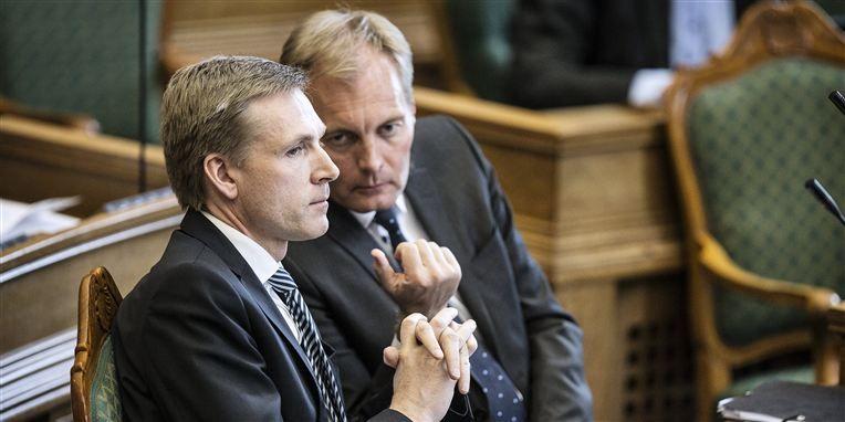 Peter Skaarup og Dansk Folkeparti er langt fra tilfredse med regeringens næste skridt i Hedegaard-sagen.