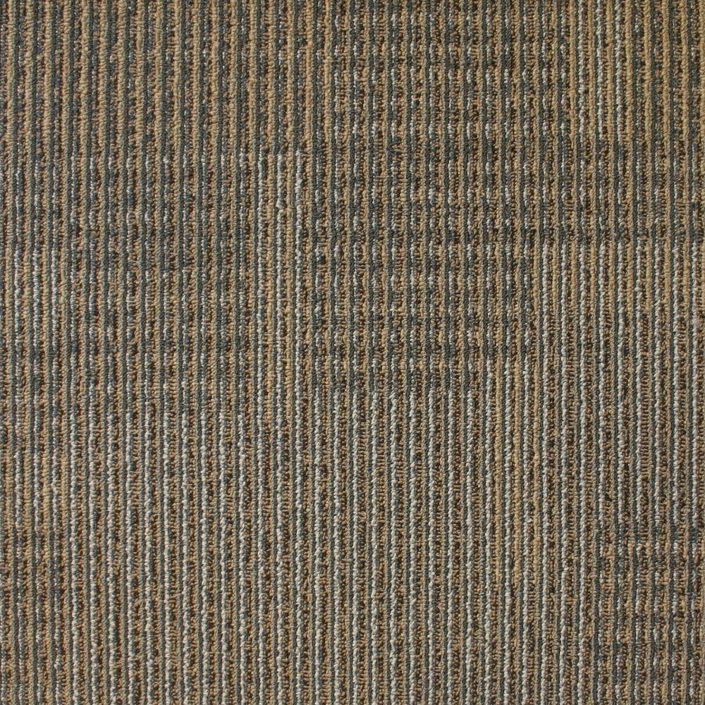 Eurotile Park Avenue Steel Loop 19 7 In X 19 7 In Carpet Tile