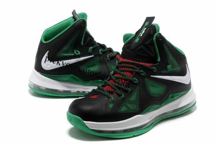 best service 0504e 38215 Nike Zoom LeBron 10 Black White Sea Green 541100 003  85.99