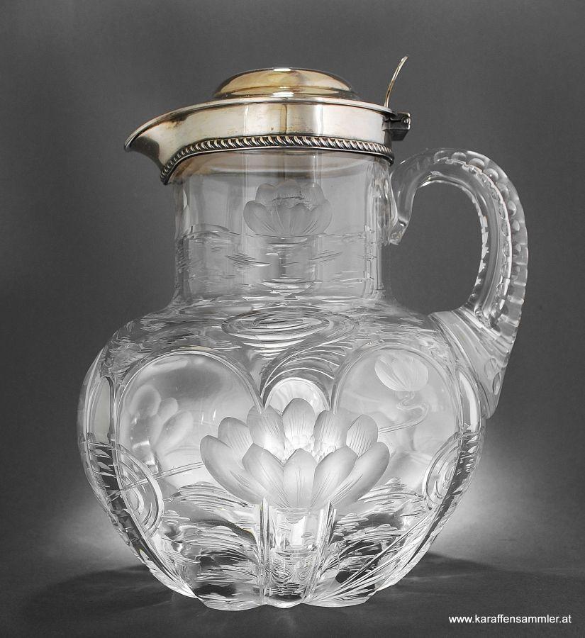 Heath & Middleton - London 1903... glass design by Frederick Carder for Stevens & Williams in Stourbridge - England