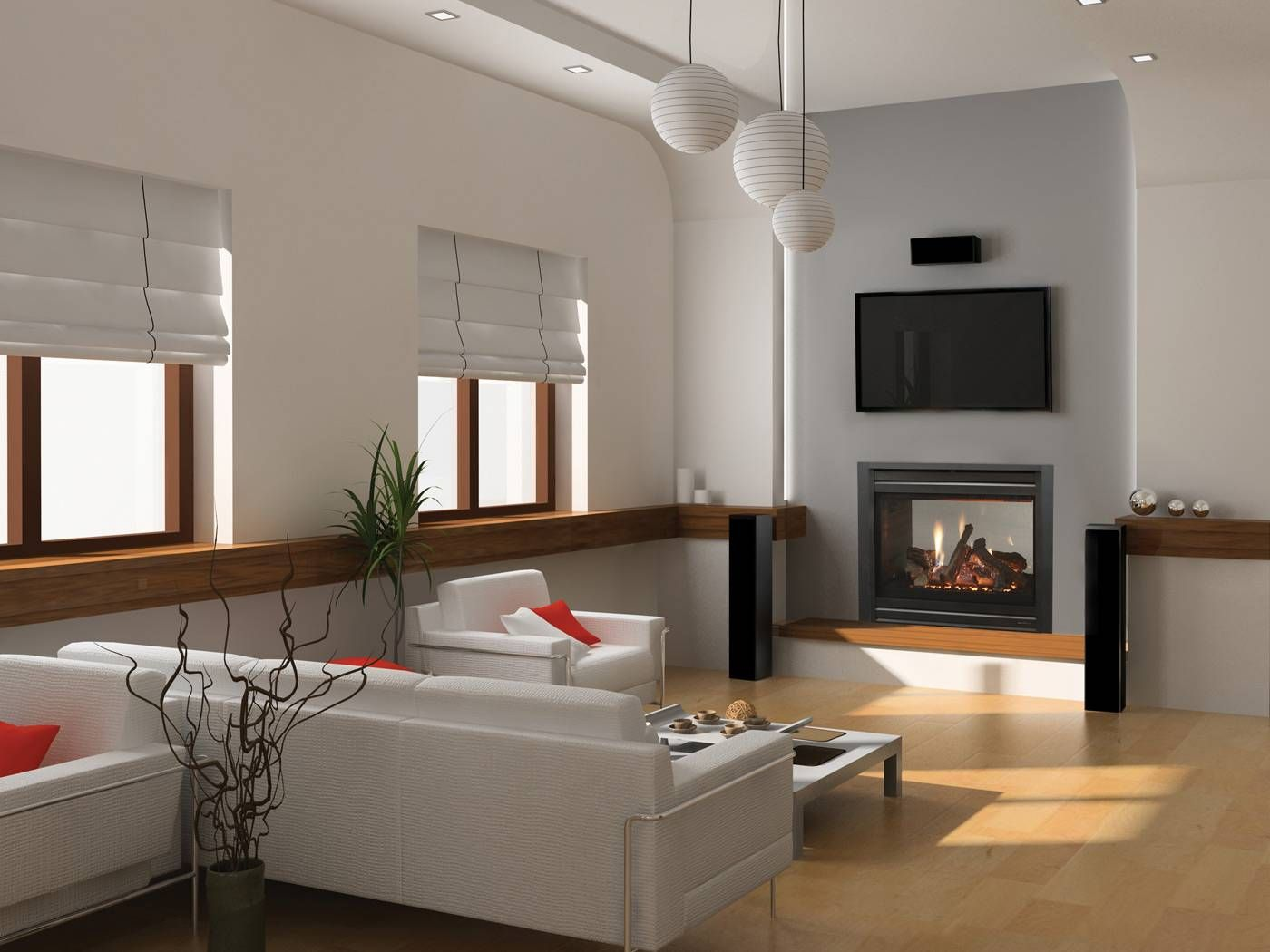 2 way fireplace from master bedroom to tub heat n glo b for 2 way fireplace