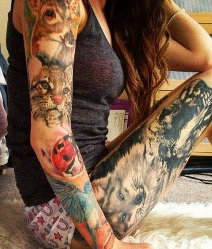 Inner Arm Sleeve Tattoos For Women Google Search Tattoos