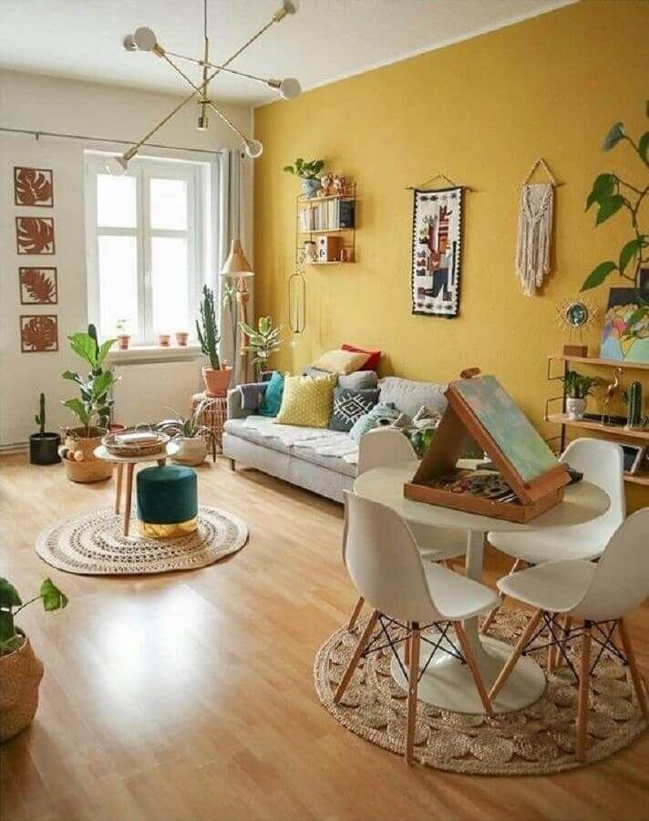Photo of Cor Mostarda: +57 Ideias Coloridas para Decorar sua Casa