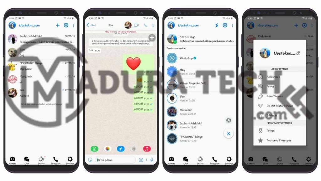 Tema Whataspp Mod Iphone Ios 13 Terbaru Aero Theme Ios Xml 19 Whatsapp Mod Apk Anti Ban Download Versi Terbaru 2020 Cara Mengubah Whatsapp Android Jadi Ipho