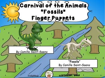 Fossils from Carnival of the Animals (Finger Puppets