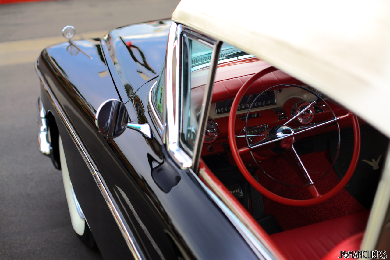 Hop in. Let's go for a cruise.