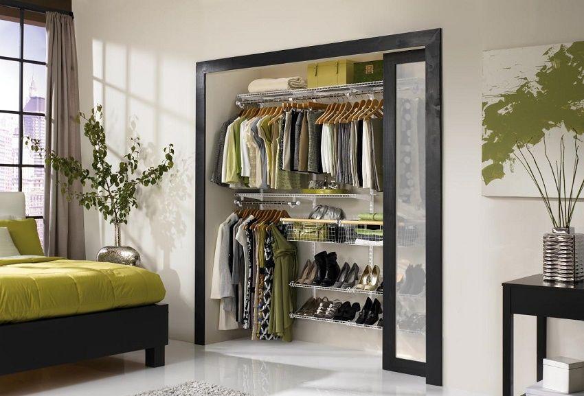 Vestidores closets para organizar tu ropa vestidor - Como ordenar un armario pequeno ...