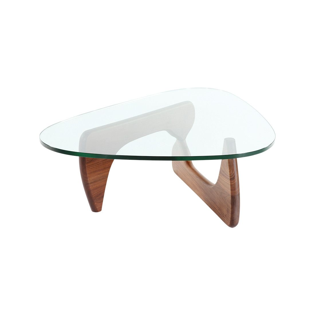 Delicieux Mid Century Modern Reproduction Noguchi Coffee Table   American Walnut  Inspired By Isamu Noguchi