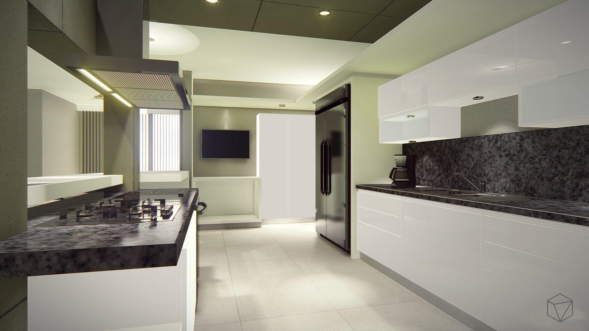Diseño de Interior: Cocina. #arquitectura #diseño #decoración ...