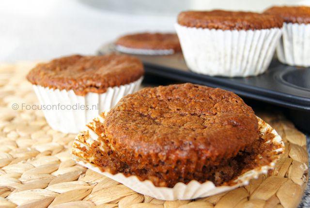 Maak zelf gemakkelijk glutenvrije hazelnootmuffins zonder geraffineerde suikers...