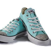 Crystal Converse Chuck All Star Shoes  0eb9657bf