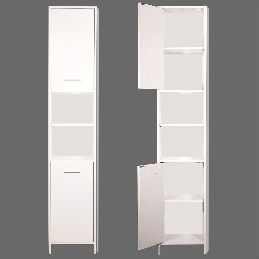 Tall Bathroom Storage Cabinet | http://divulgamaisweb.com | Pinterest