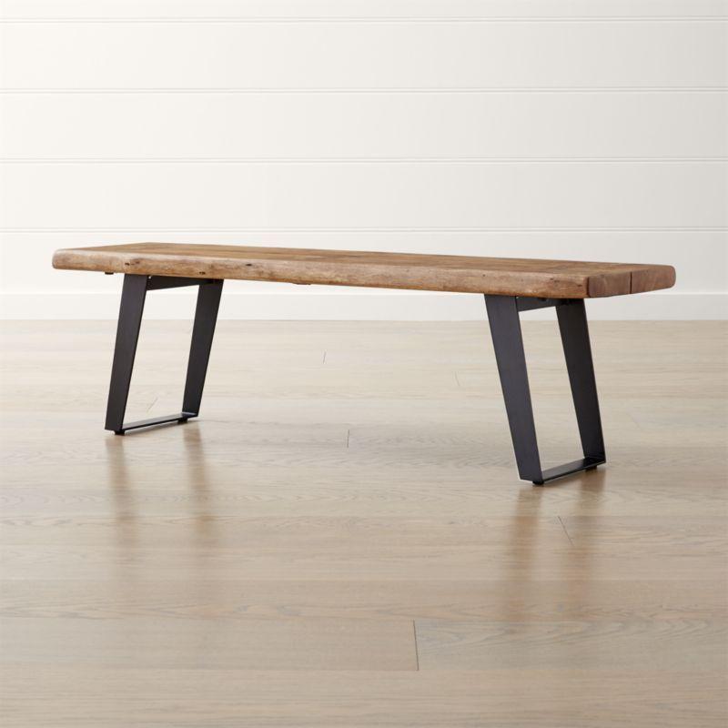 Yukon Small Bench Crate And Barrel Coffee Table Crate And Barrel Narrow Coffee Table Rectangular Coffee Table