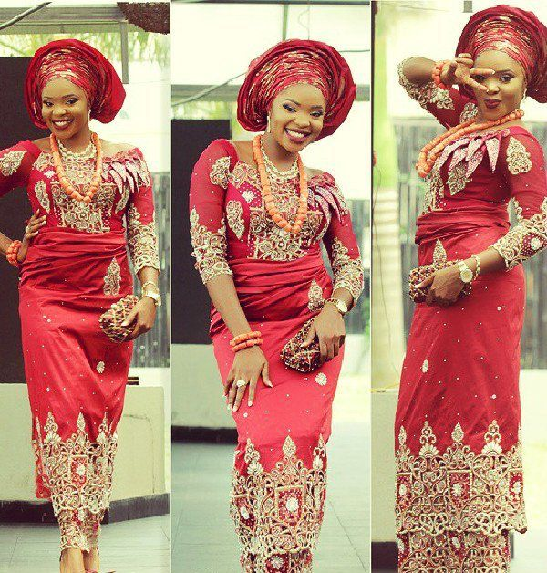aso ebi styles with george | African traditional dresses, African fashion,  Nigerian wedding dresses traditional
