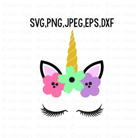 Unicorn Head SVG, Unicorn SVG, Unicorn Clipart, Unicorn