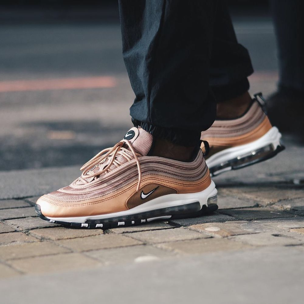 buy popular 13d2a 980f1 NIKE AIR MAX 97 DESERT DUST, WHITE   BRONZE SNEAKERS IN ALL SIZES  Nike