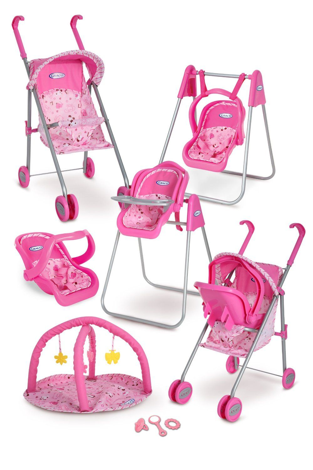 Graco Play Set Stroller with Canopy, Swing