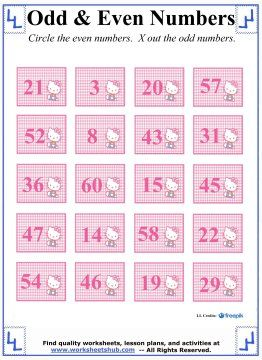 Odd and even numbers kitty worksheet number activities odd and even numbers kitty worksheet ibookread ePUb