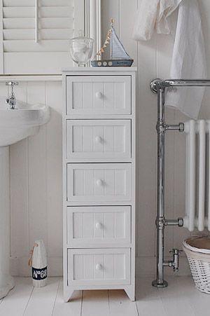 Bathroom Units Free Standing a crisp white freestanding cottage bathroom storage furniture. a