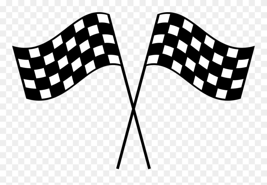 Race Car Flag Png Clipart 5615348 Pinclipart Clip Art Car Flags Racing