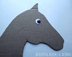 Image result for CARDBOARD HOBBY HORSE