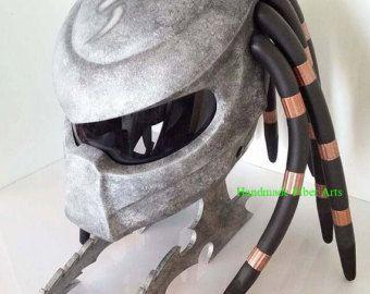 Predator Original-Badass Motorradhelm von NLOMOTO auf Etsy
