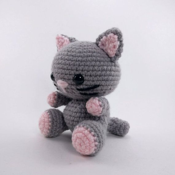 PATTERN: Kaylie the Kitten - Crochet cat pattern - amigurumi cat ...
