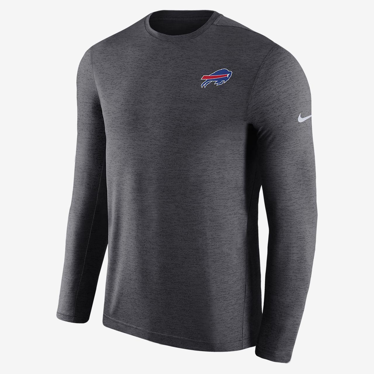 1c06df9b5557 Nike Dri-Fit Coach (Nfl Bills) Men s Short Sleeve Football Top - 3XL ...