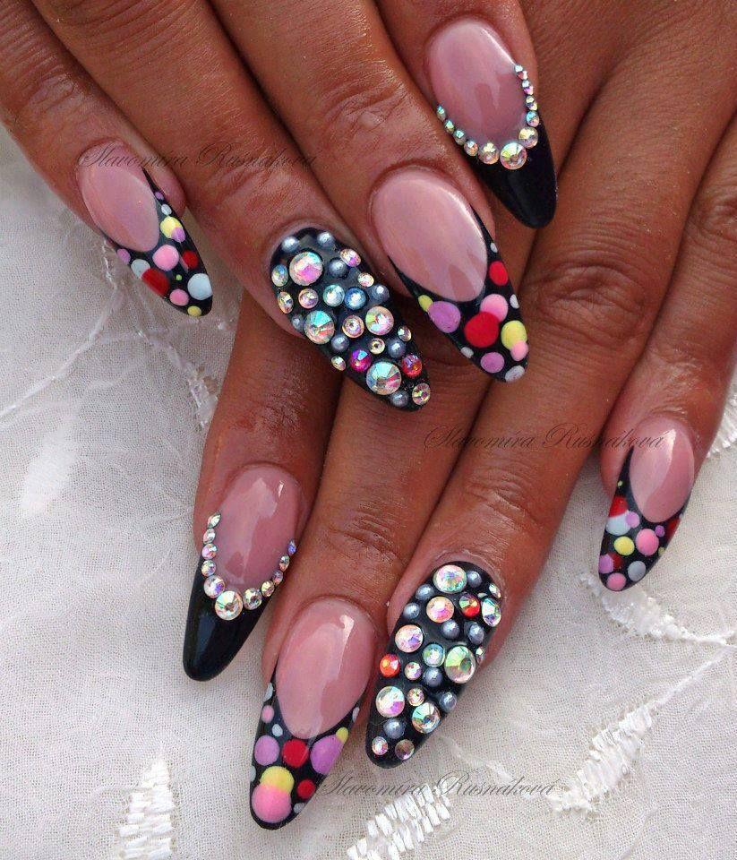 I wish I could have long nails again. - Nail #nails #nailart Nail Art Pinterest Nail Nail, Junk