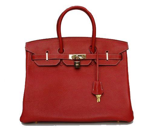 Hermes Birkin in Rouge Red <3